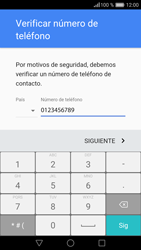 Crea una cuenta - Huawei P9 - Passo 6