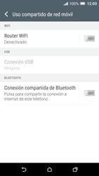 Configura el hotspot móvil - HTC One A9 - Passo 6