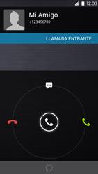 Contesta, rechaza o silencia una llamada - Huawei Ascend P6 - Passo 5