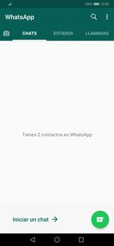 Usar WhatsApp - Huawei Mate 20 Pro - Passo 3
