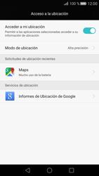 Uso de la navegación GPS - Huawei P8 - Passo 23