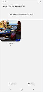 Envía fotos, videos y audio por mensaje de texto - Samsung Galaxy A10 - Passo 19