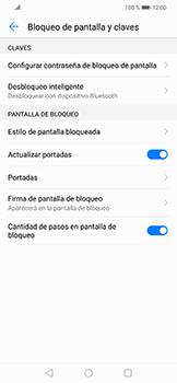 Activa o desactiva el uso del código de seguridad - Huawei Mate 20 Lite - Passo 4