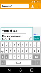 Envía fotos, videos y audio por mensaje de texto - LG K4 - Passo 13