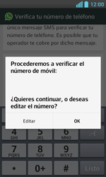 Configuración de Whatsapp - LG Optimus L5 II - Passo 6