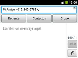 Envía fotos, videos y audio por mensaje de texto - Samsung Galaxy Y Pro GT - B5510 - Passo 7