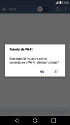 Configura el WiFi - LG K10 - Passo 5
