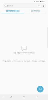 Envía fotos, videos y audio por mensaje de texto - Samsung Galaxy S9 Plus - Passo 3