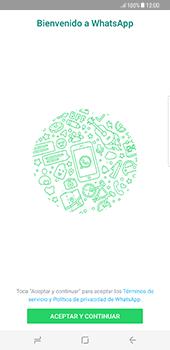 Configuración de Whatsapp - Samsung Galaxy S8+ - Passo 4