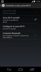 Configura el hotspot móvil - Motorola Moto G - Passo 10