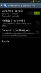 Configura el hotspot móvil - Samsung Galaxy S 3  GT - I9300 - Passo 11