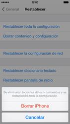 Restaura la configuración de fábrica - Apple iPhone 5c - Passo 7