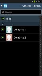 ¿Tu equipo puede copiar contactos a la SIM card? - Samsung Galaxy S4  GT - I9500 - Passo 8