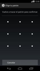 Desbloqueo del equipo por medio del patrón - Motorola Moto E (1st Gen) (Kitkat) - Passo 9