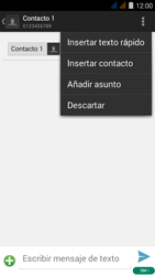 Envía fotos, videos y audio por mensaje de texto - Acer Liquid Z410 - Passo 8