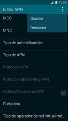 Configura el Internet - Samsung Galaxy S5 - G900F - Passo 15