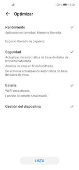 Cómo usar la función Optimizar - Huawei P40 Lite - Passo 4