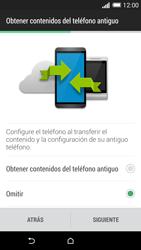 Activa el equipo - HTC One M8 - Passo 9