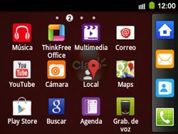 Uso de la navegación GPS - Samsung Galaxy Y Pro GT - B5510 - Passo 3