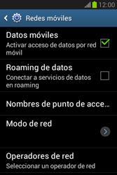 Desactiva tu conexión de datos - Samsung Galaxy Fame Lite - S6790 - Passo 5