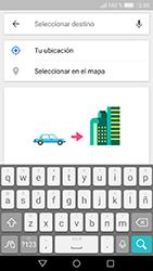 Uso de la navegación GPS - Huawei Cam Y6 II - Passo 15