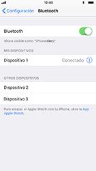 Conecta con otro dispositivo Bluetooth - Apple iPhone 8 - Passo 6