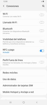 Configura el hotspot móvil - Samsung Galaxy A80 - Passo 5