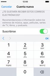 Crea una cuenta - Apple iPhone 4s - Passo 15
