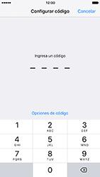Activa o desactiva el uso del código de seguridad - Apple iPhone 7 - Passo 6
