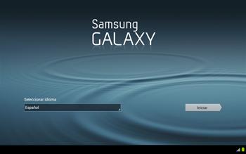 Activa el equipo - Samsung Galaxy Note 10-1 - N8000 - Passo 3