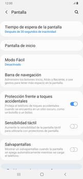 Ajustar el brillo/ Suspensión de pantalla - Samsung Galaxy A30 - Passo 8