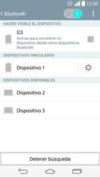 Conecta con otro dispositivo Bluetooth - LG G3 D855 - Passo 8