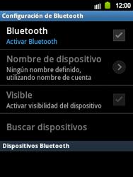 Conecta con otro dispositivo Bluetooth - Samsung Galaxy Y  GT - S5360 - Passo 6