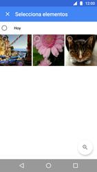Transferir fotos vía Bluetooth - Motorola Moto G5 - Passo 5