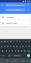 Uso de la navegación GPS - Motorola Moto E5 Play - Passo 9