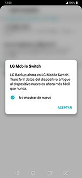 Realiza una copia de seguridad con tu cuenta - LG G7 Fit - Passo 5