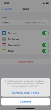 Cómo realizar una copia de seguridad o restaurar contactos - Apple iPhone 11 Pro - Passo 9