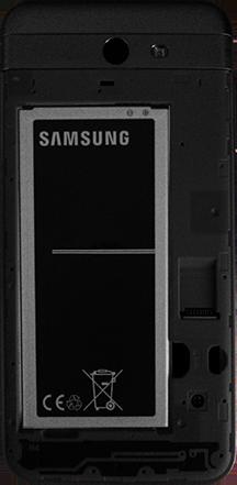 Cómo insertar la SIM card - Samsung Galaxy J7 Prime - Passo 3