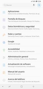 Desactivar la sincronización automática - Samsung A7 2018 - Passo 4