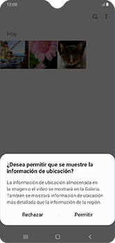 Transferir fotos vía Bluetooth - Samsung Galaxy A10 - Passo 4