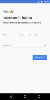 Crea una cuenta - Motorola Moto G6 Plus - Passo 6