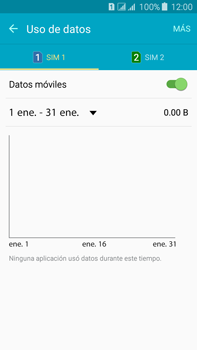 Desactiva tu conexión de datos - Samsung Galaxy J7 - J700 - Passo 4
