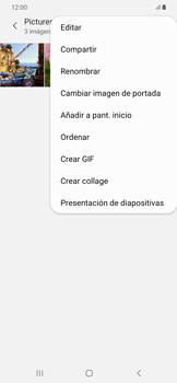 Transferir fotos vía Bluetooth - Samsung Galaxy A50 - Passo 8