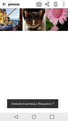 Transferir fotos vía Bluetooth - LG X Cam - Passo 11