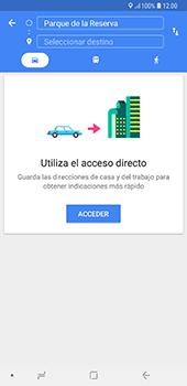 Uso de la navegación GPS - Samsung A7 2018 - Passo 12