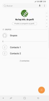 ¿Tu equipo puede copiar contactos a la SIM card? - Samsung Galaxy S9 Plus - Passo 5