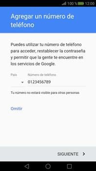 Crea una cuenta - Huawei Mate S - Passo 12