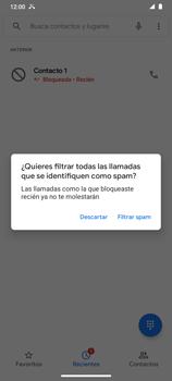 Cómo bloquear llamadas - Motorola Moto G9 Play - Passo 7