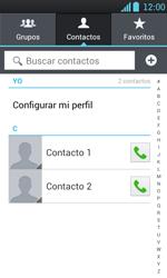 ¿Tu equipo puede copiar contactos a la SIM card? - LG Optimus L7 - Passo 4