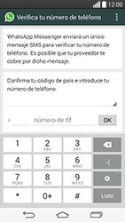 Configuración de Whatsapp - LG G3 Beat - Passo 5